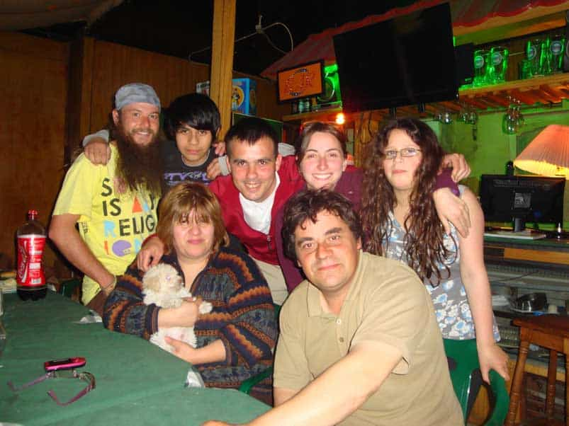 CS család Puerto Natalesben