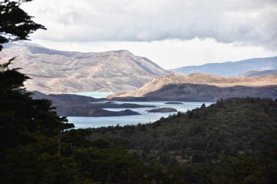 Lagúna a Torres del Paine Nemzeti Parkban