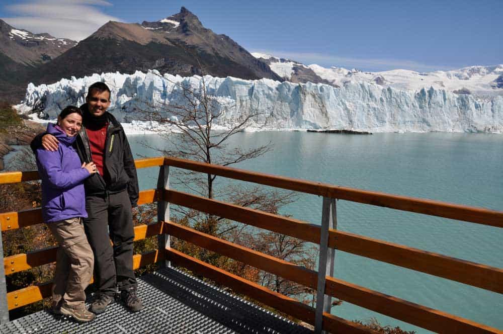 A Perito Morenonál
