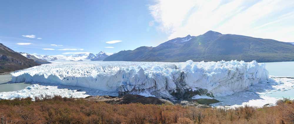 Panoráma fotó Perito Moreno