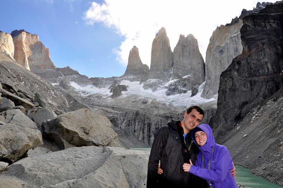 Impozáns tornyok - Torres del Paine