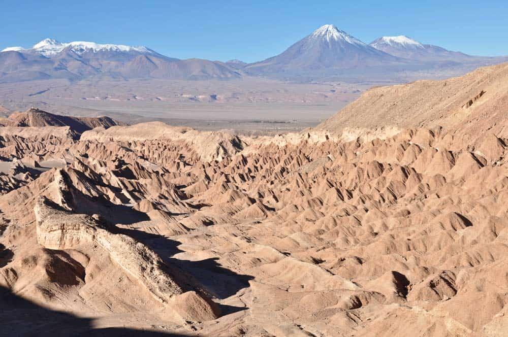 A Halál-völgye az Atacama-sivatagban