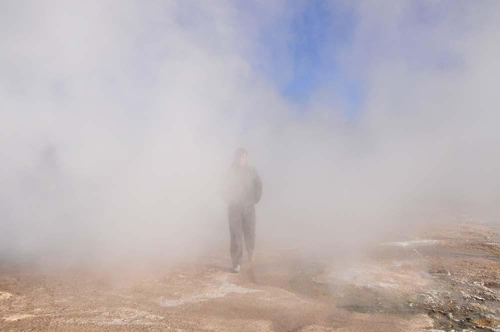Tatio gejzírjei között, Chilében