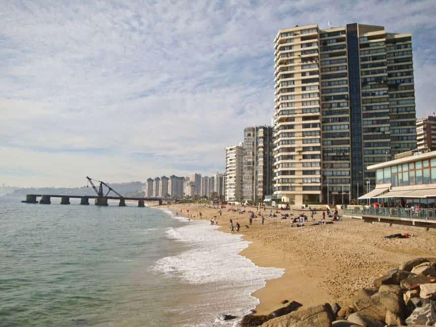 A tengerpart, Viña del Mar
