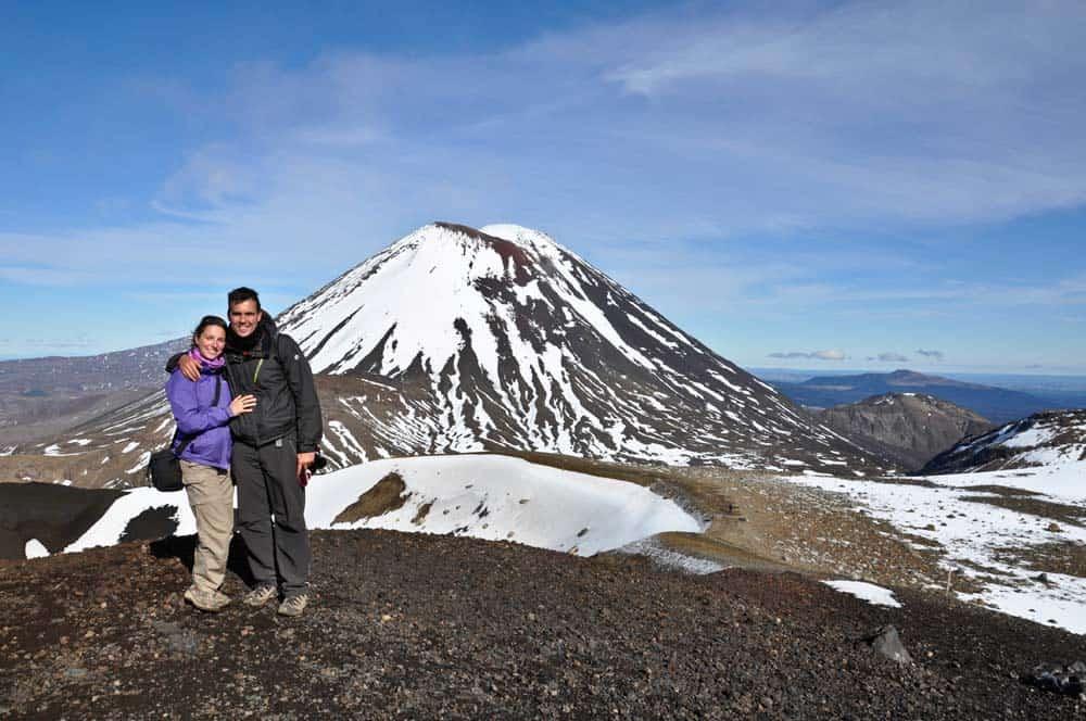 A Végzet-hegy előtt, Tongariro Nemzeti Park