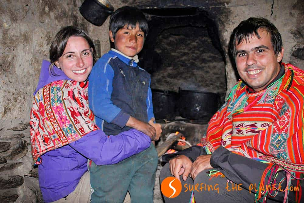 Cooking with a family in Patacancha