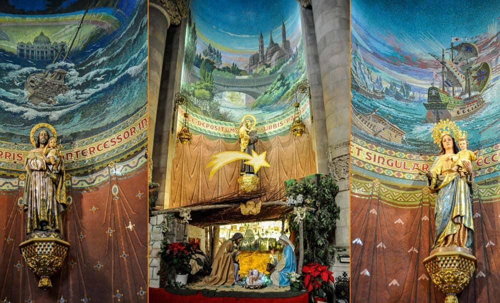 Mozaikok a Tibidabo templomban