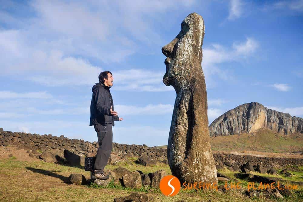 Moai statue Easter Island