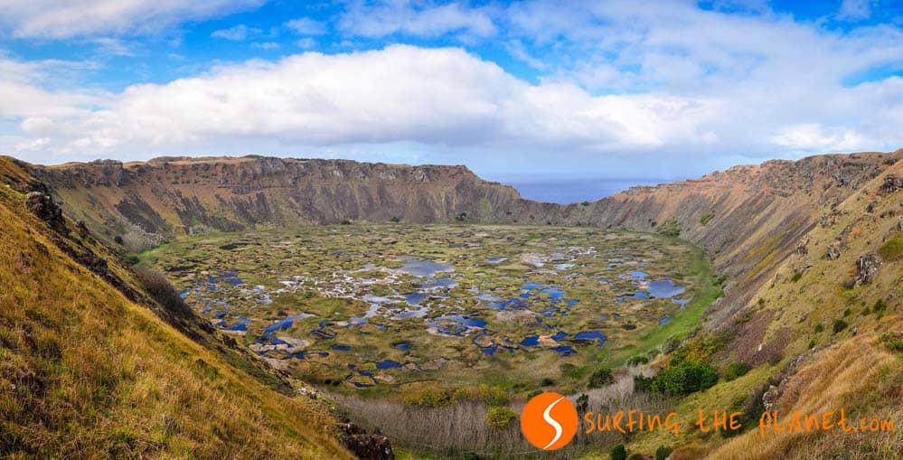 Rano Kau Volcano Easter Island