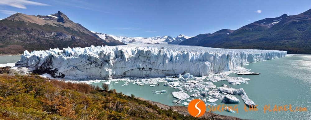 Side Panorama Perito Moreno
