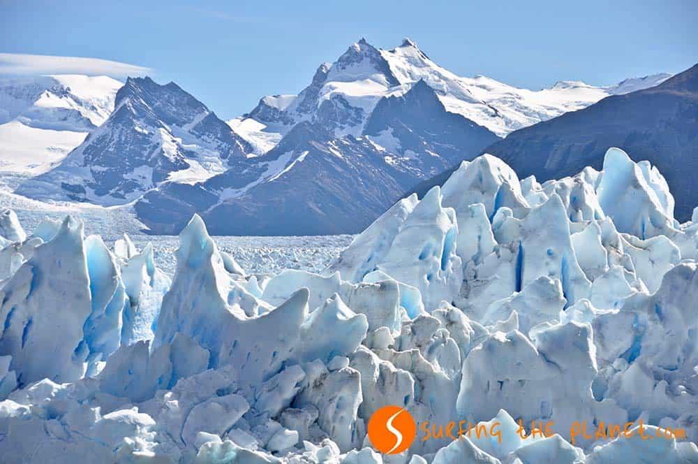 Surface view Perito Moreno