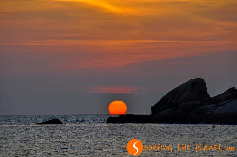 Sunrise in Ko Tao