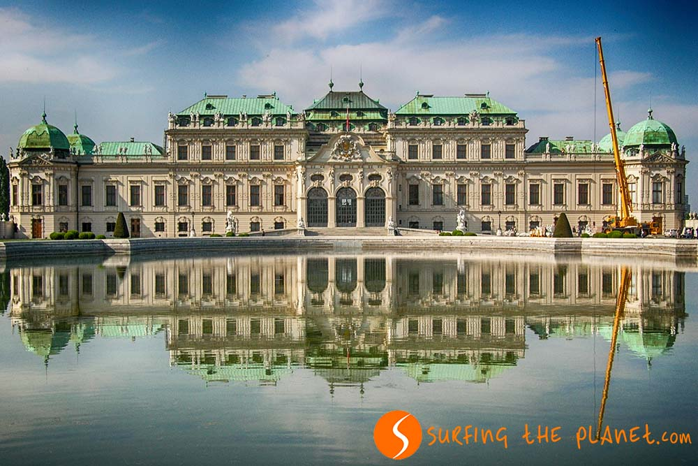 Castles and Palaces in Europe - Belvedere Austria