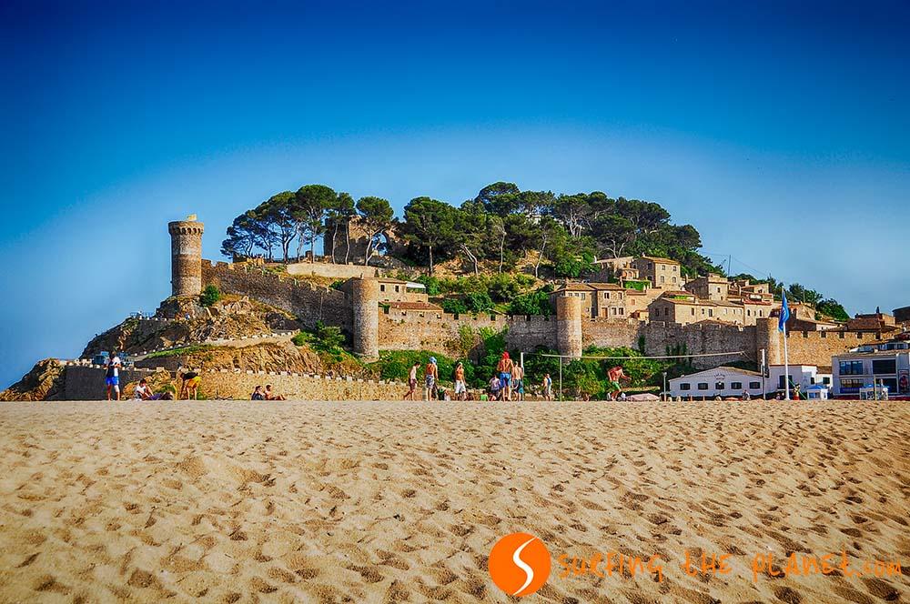 Castle of Tossa del Mar