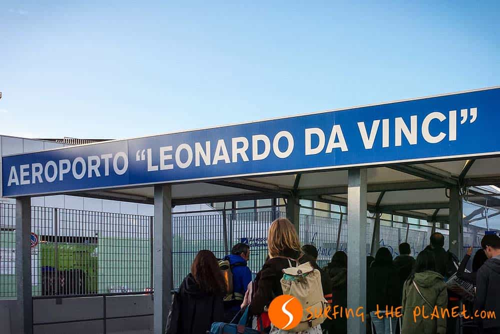 Terminal Fiumicino in Roma