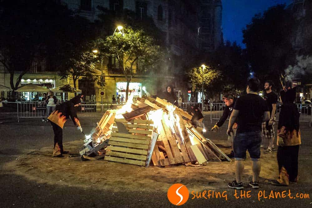 Bonfires of Sant Joan
