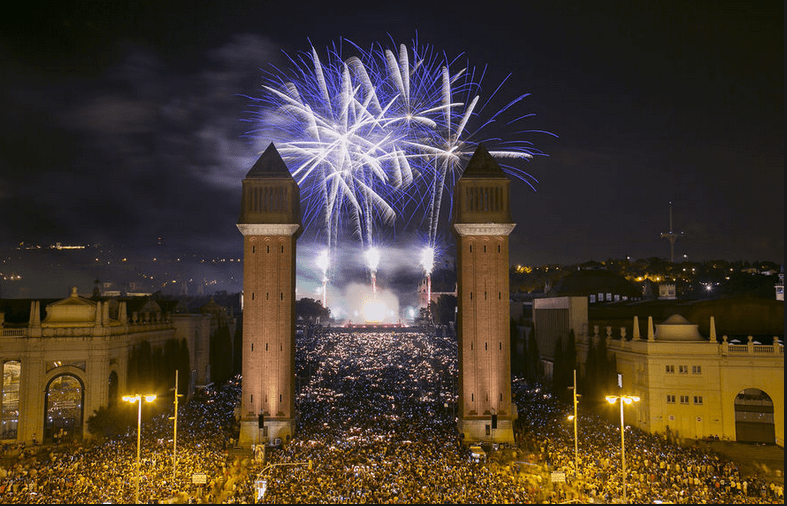 where to go for new year's eve - barcelona