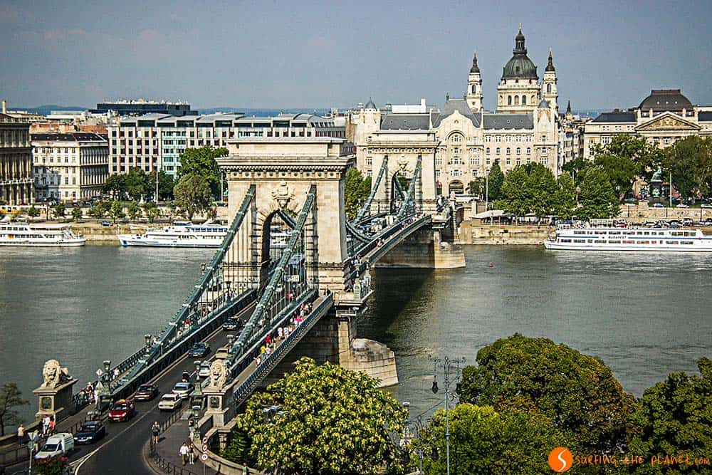 The Chain Bridge of Budapest - things to do in Budapest
