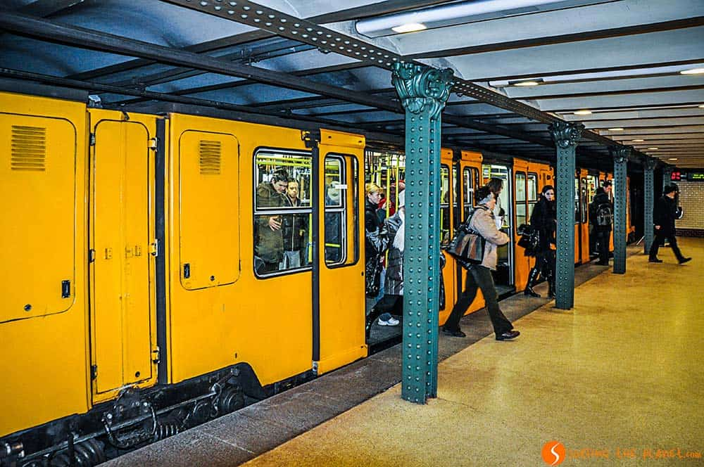 The oldest metro of the continent in Budapest