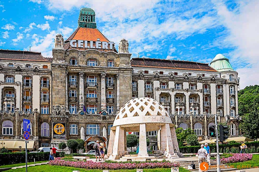 The Gellert Hotel - one of the best thermal baths of Budapest