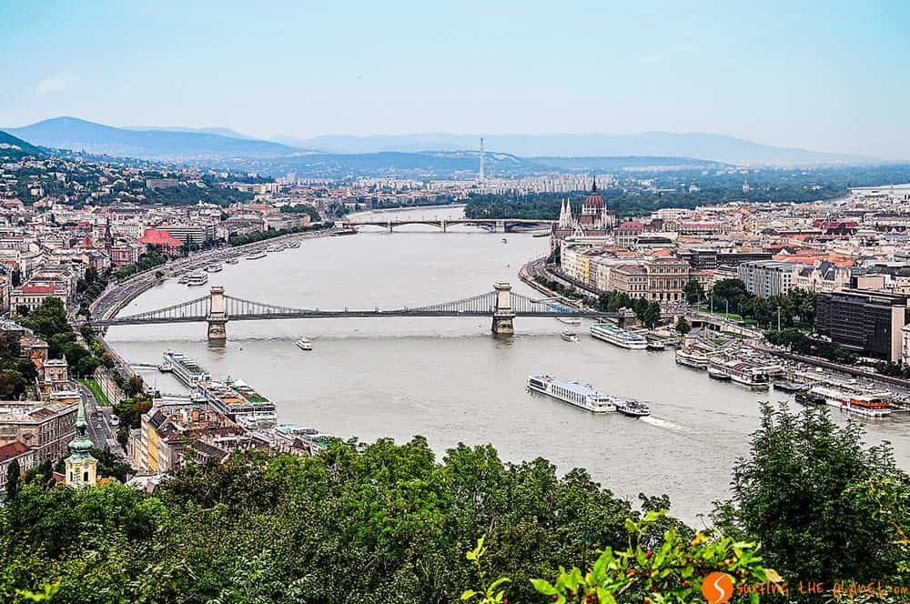 View of Budapest from Gellért Hill - visit Budapest
