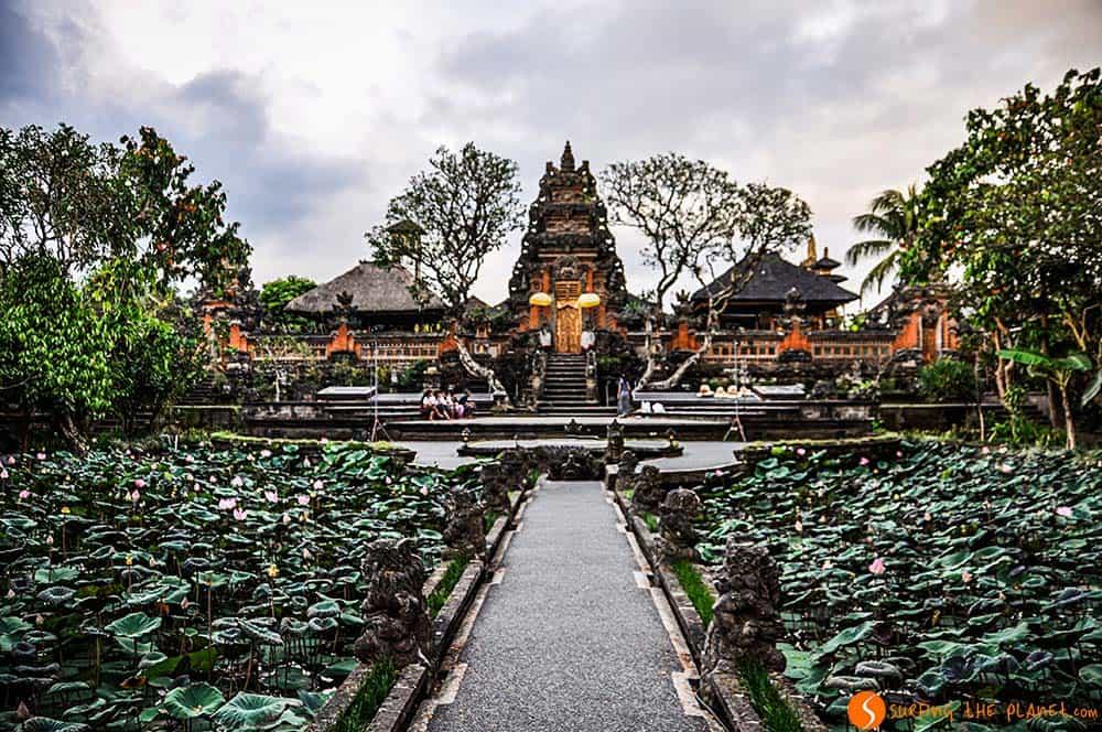 Pura Saraswati Temple in Bali