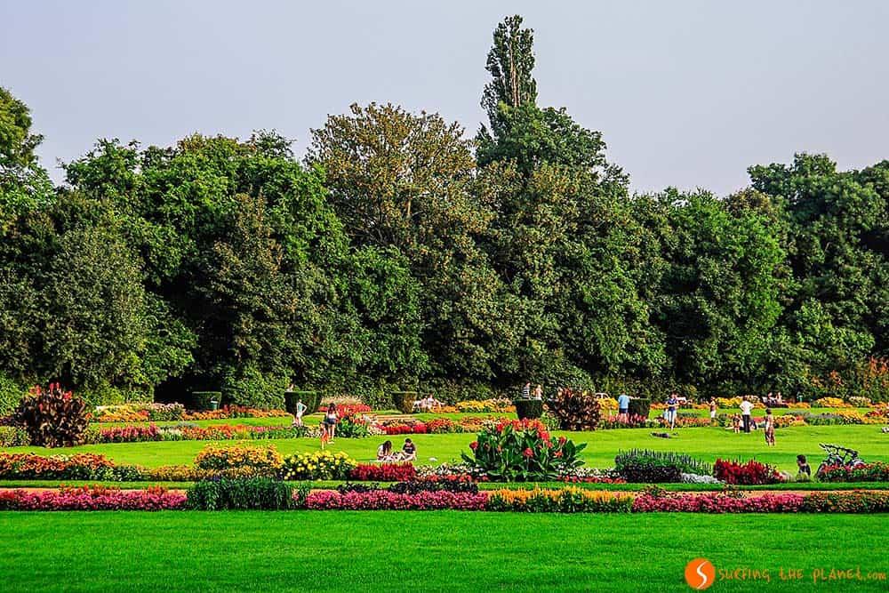 A park in Margaret Island - Visit Budapest