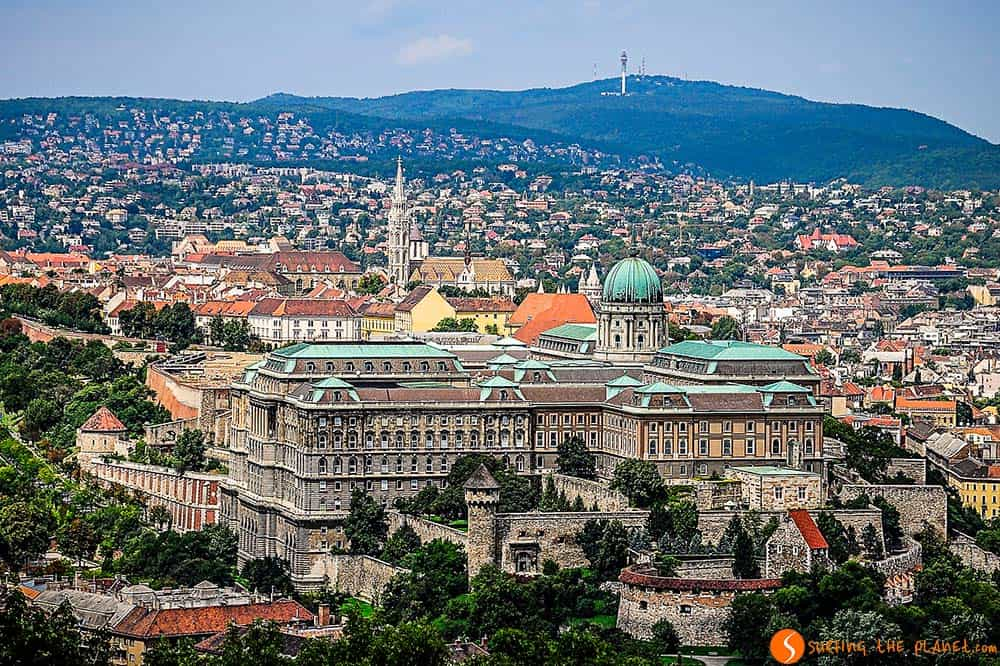 View of the Budpest Royal Palace - Visit Budapest