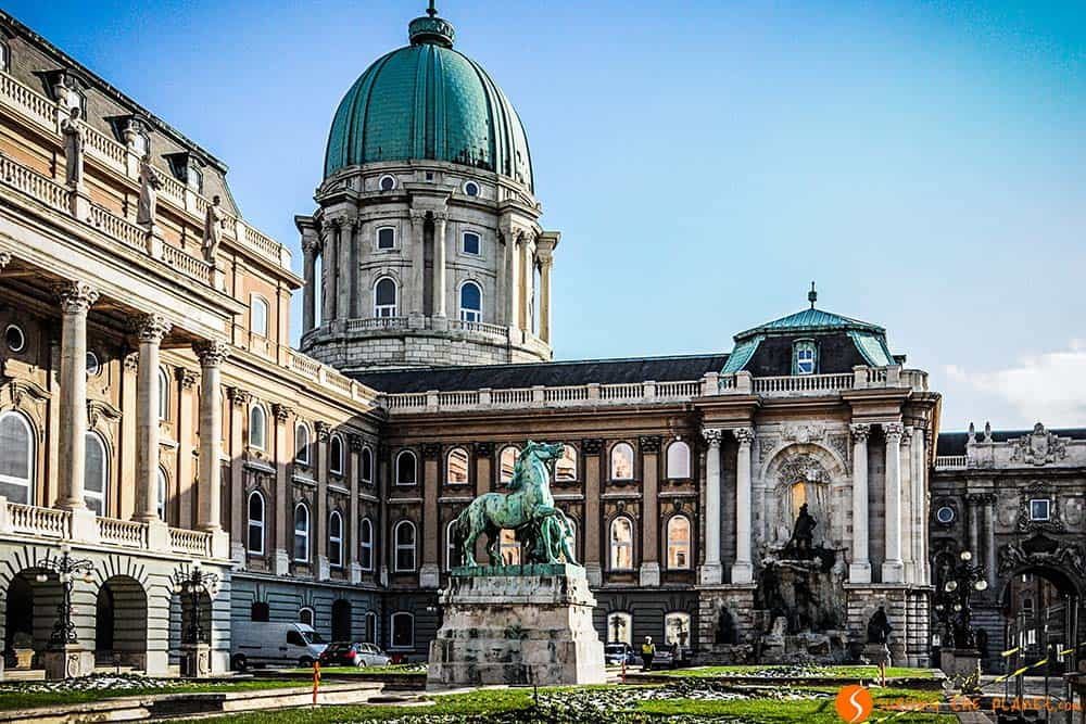 The Royal Palace in Budapest - sightseeing in Budapest