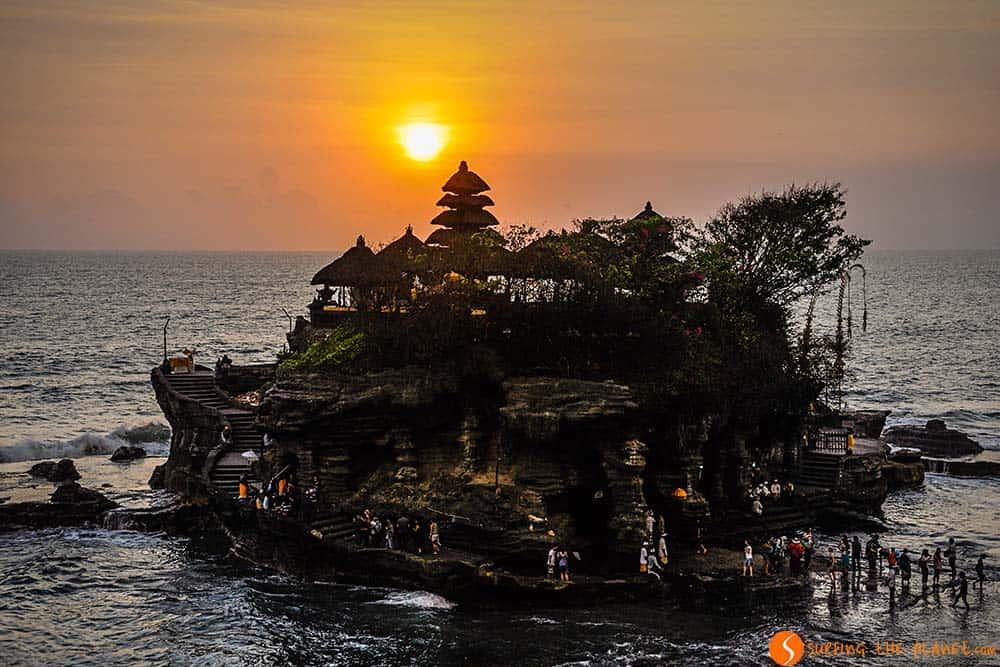 Temples in Bali - Pura Tanah Lot