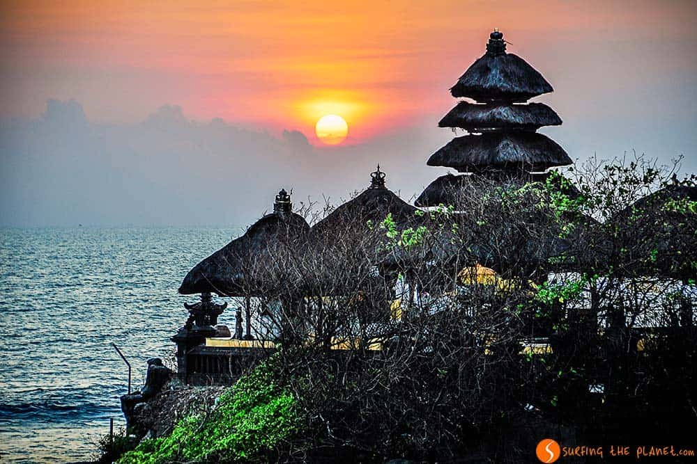 Bali Temples - Sunset in Pura Tanah Lot