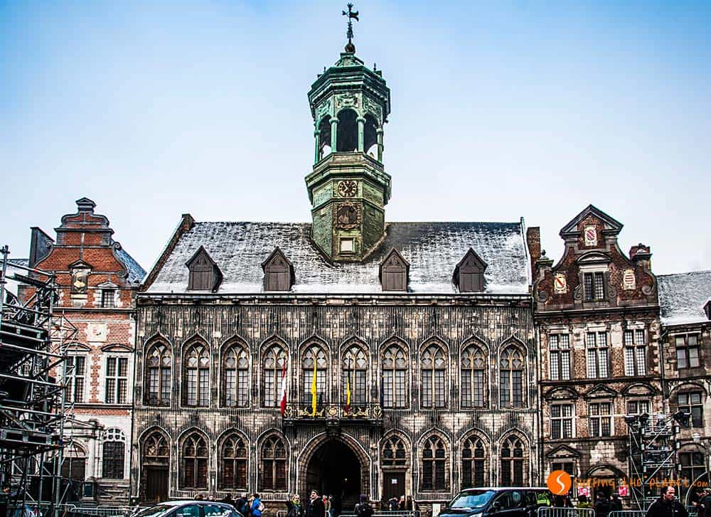 Town Hall in Grande Place Mons