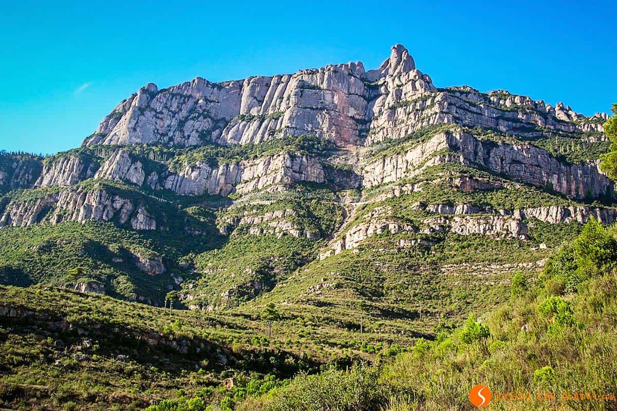 Montagna di Montserrat dal Monastero | cosa vedere a Barcelloba