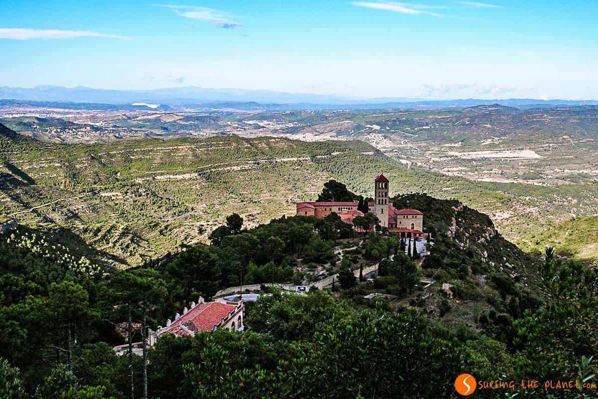 Paesaggio da Montserrat Barcelona | Monastero Montserrat