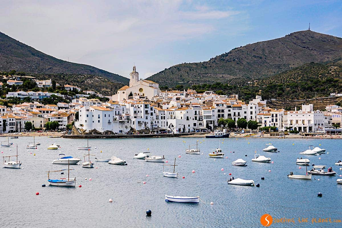 The white village of Cadaqués - Costa Brava