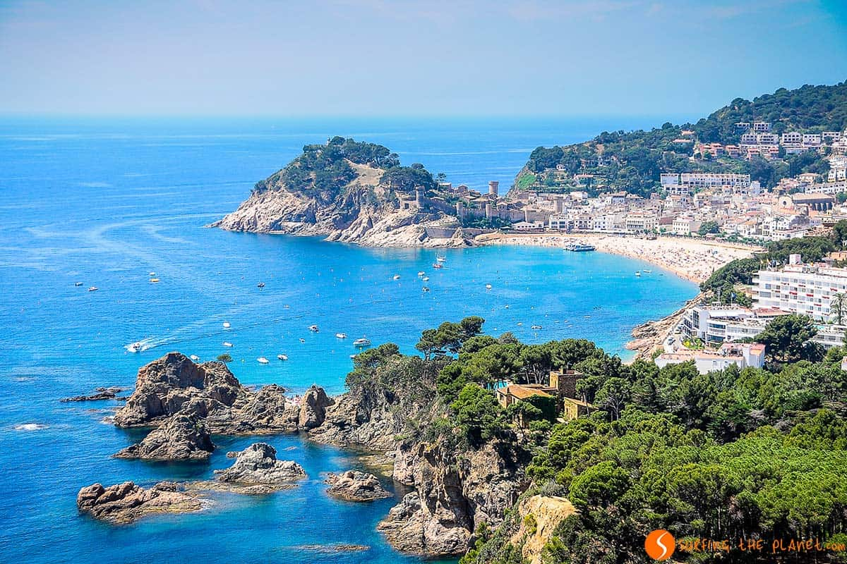 The view of Tossa de Mar - Costa Brava Top 20