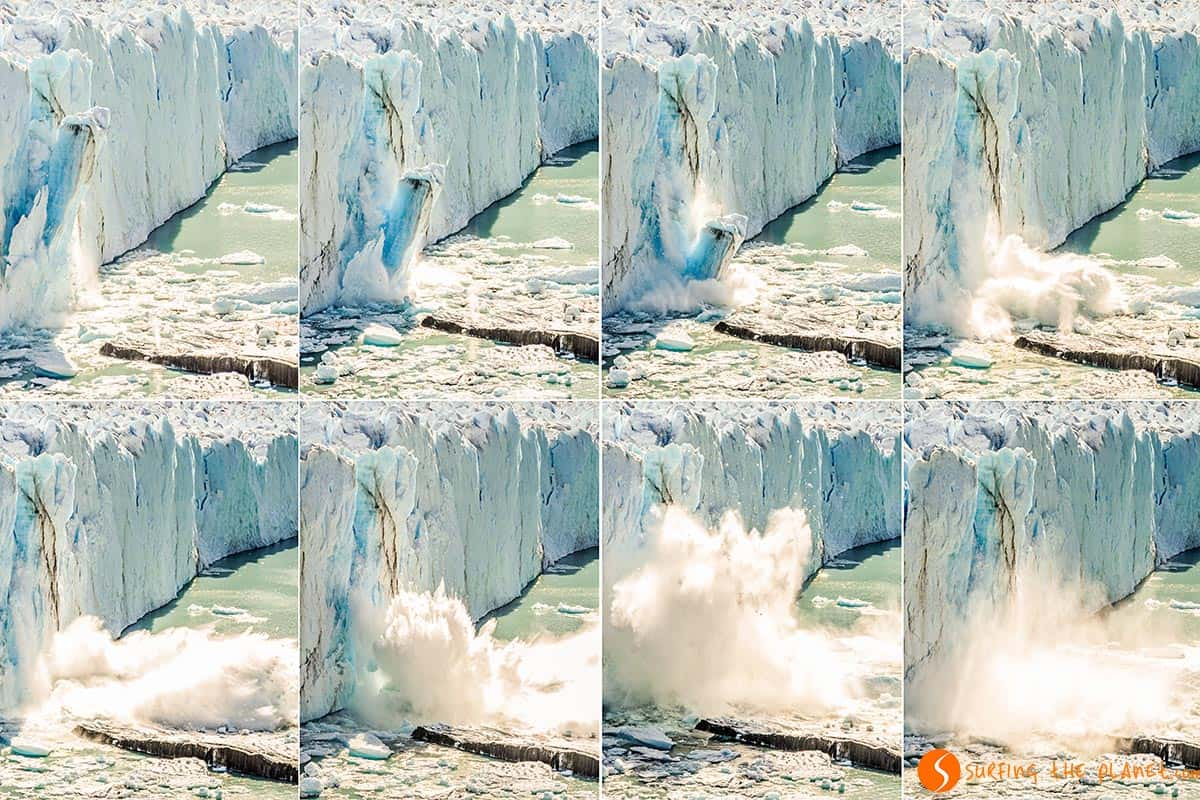 Perito Moreno Ice Fall - Patagonia Argentina