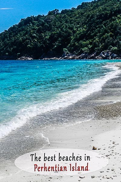 All the beaches of Perhentian Island Malaysia