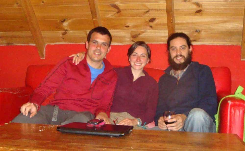 Con Pablo di couchsurfing