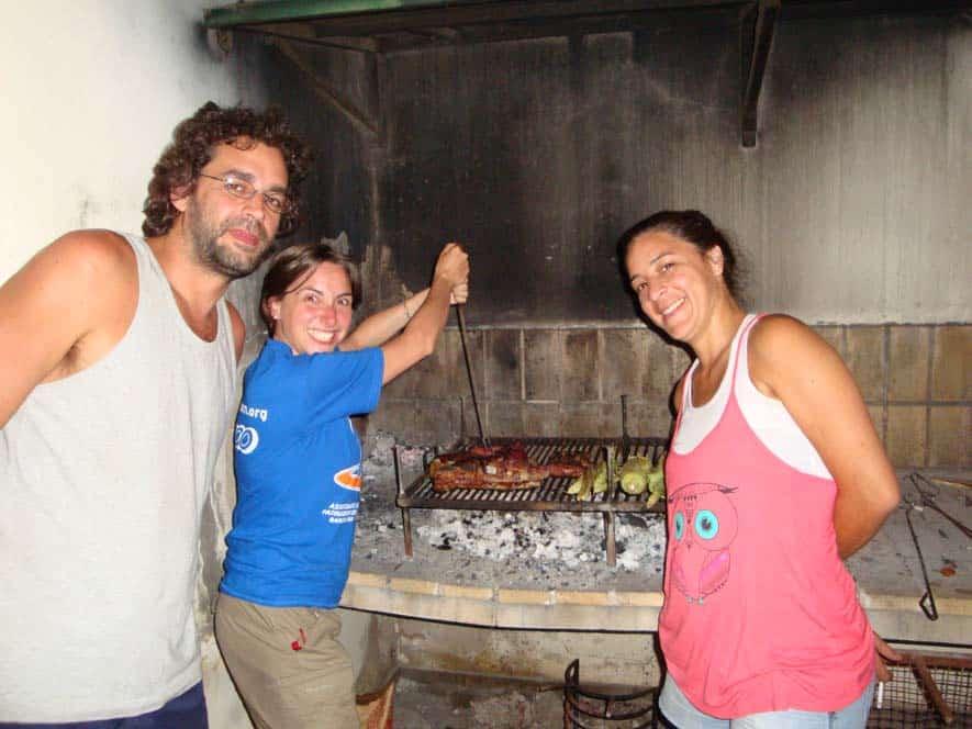 Asado Argentino con Juan y Pato