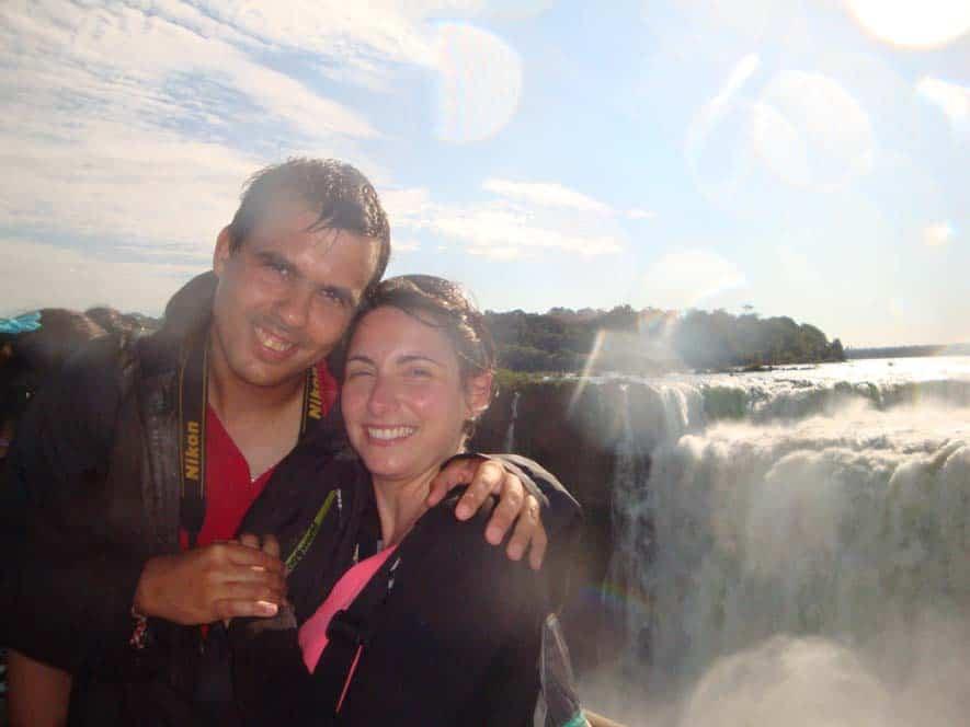 A döbbenetes Garganta del Diablo, az Iguazú Nemzeti Parkban