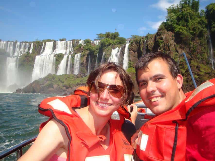Excursión en barco, Cataratas de Iguazú, Argentina