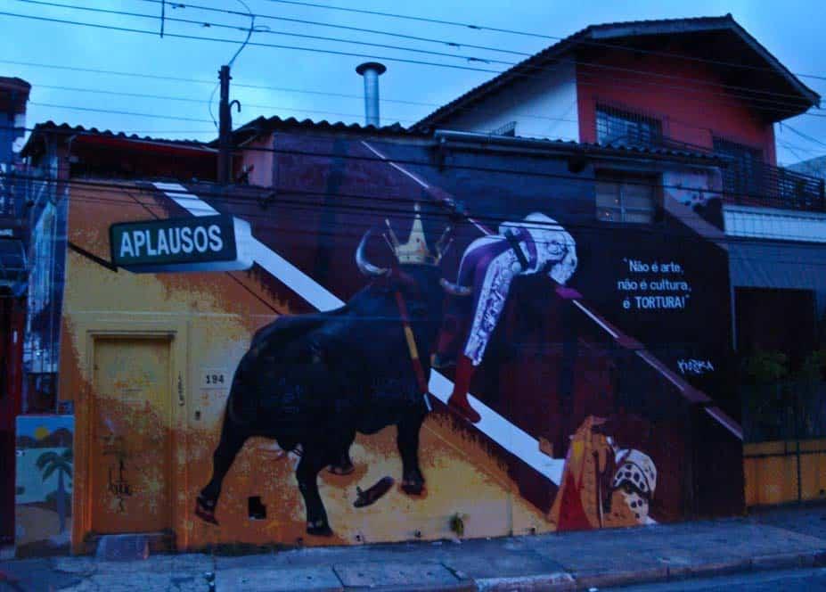 Szellemes graffitik Sao Paulóban