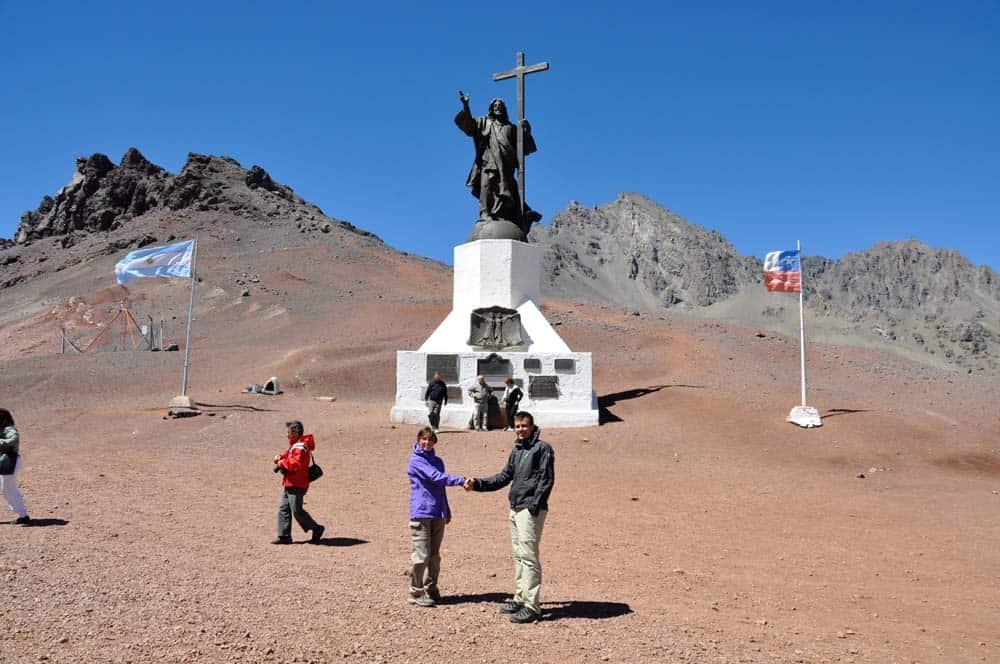 Cristo Redentor, a chilei-argentin barátság szimbóluma