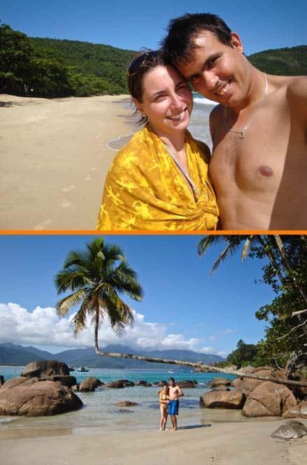 Playas de ensueño en Ilha Grande, Brasil