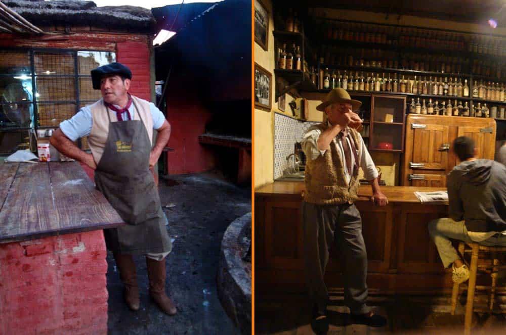 Gauchos en San Antonio de Areco, excursión desde Buenos Aires, Argentina