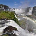 Iguaçú la parte Brasiliana ed il Parco dei Volatili (Parque das Aves)