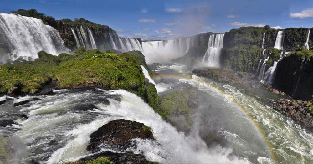 Cataratas de Iguazú en Brasil