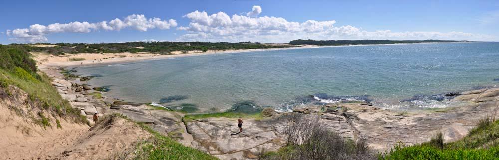 Spiaggia a Punta del Diablo
