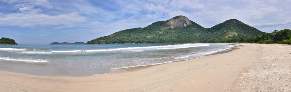 Playa Dios Rios, Ilha Grande, Brasil